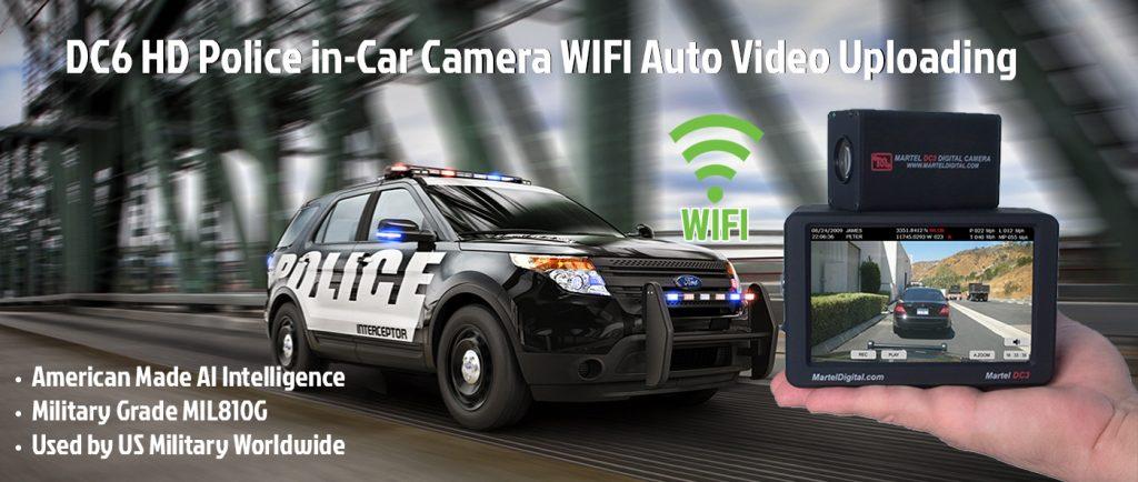 Police in-car video camera system