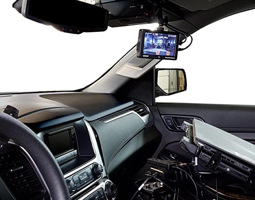 Police in-car camera system DC6-DC3