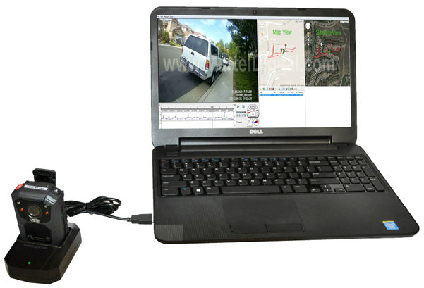 body-camera usb docking station