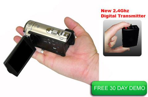 Police Dash-Cam in hand