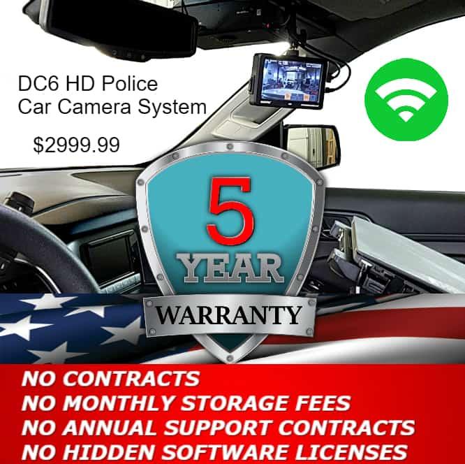 Police Car Cameras help for Grants