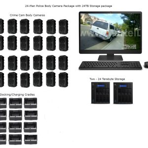 24 Office Police body camera package